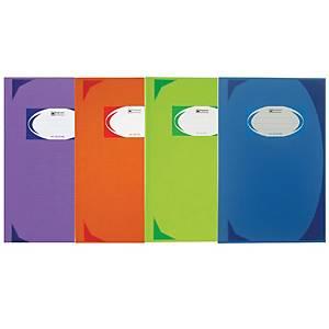 ตราช้าง สมุดบันทึกมุมมัน HC-601 70 แกรม 200 คละสี
