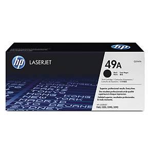 HP 49A Q5949A laservärikasetti musta
