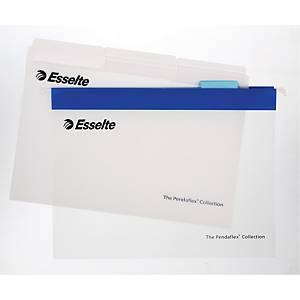 Hængemappe Esselte Easyview, A4, blå, æske a 10 stk.