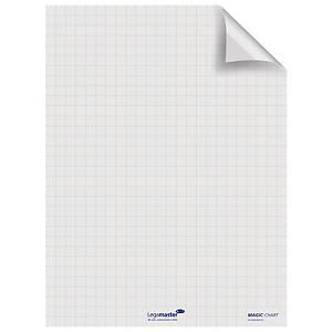 Folienrolle Legamaster Magic Chart 159000,elektrost.haft.,kar., 80x60 cm