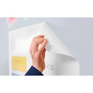 Pack 25 folhas quadriculadas eletrostáticas Magic-Chart - 800 x 600 mm