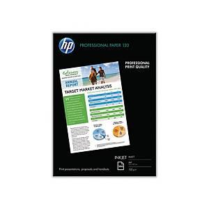 Inkjetpapier HPQ6593A Professional 120g A4 matt 200 Blatt
