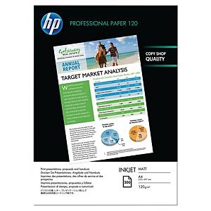 HP Q6593A A4 Professional Matt Inkjet Paper 120 gsm - 200 Sheets
