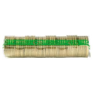 Etui à monnaie transparent - 50 centimes d euro - paquet de 250