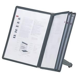 Protège-documents pupitre Durable Sherpa Soho - 5 pochettes noires