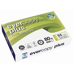 Genbrugspapir Evercopy+, A3, 80 g, kasse med 5 pakker a 500 ark