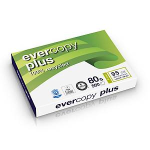 Clairefontaine Evercopy Plus gerecycled wit A3 papier, 80g, per 5 x 500 vellen