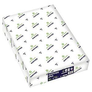 Resirkulert papir Evercopy+, A3, 80 g, kartong (5 pakker à 500 ark)