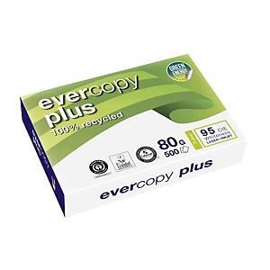 Resma de 500 folhas de papel reciclado Evercopy Plus - A3 - 80 g/m²