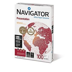 Resma de 500 folhas de papel Navigator Presentation - A3 - 100 g/m²