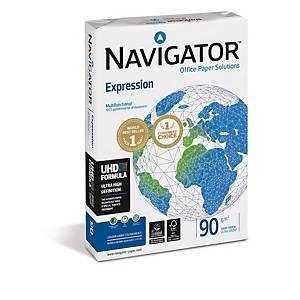 Paquete 500 hojas de papel Navigator Expression - A3 - 90 g/m2