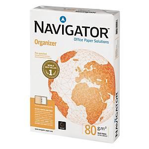 Carta bianca Navigator Organizer 4 fori A4 80 g/mq - risma 500 fogli