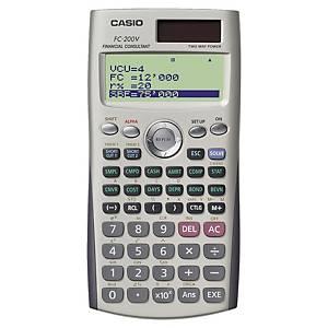 Calculatrice financière Casio FC-200V - 10+2 chiffres - métal