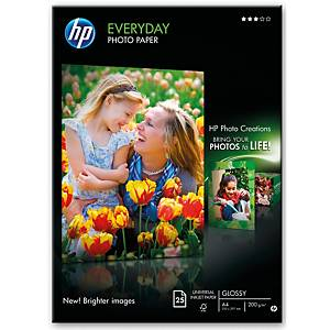 Papier HP Everyday Photo Glossy Q5451A, A4, 25 arkuszy