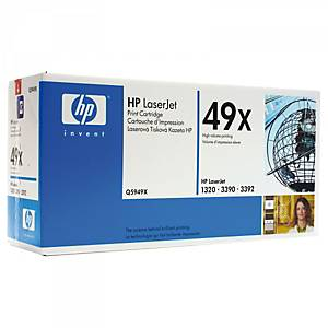 Cartouche toner HP 49X (Q5949X), noire, haute capacité