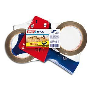 Precintadora manual Tesapack para cintas de embalaje de hasta 66 m x 50 mm