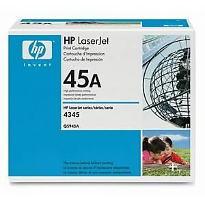 Cartouche toner HP 45A (Q5945A), noire