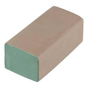 Ręczniki papierowe zielone, składka V, 20 x 200 listków