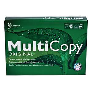 Multifunktionspapper Multicopy Original A4 75 g kartong med 5 x 500 ark