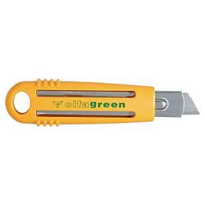 Cutter de sécurité Olfa SK4 Green - ABS 100% recyclé - 18 mm