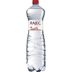 Pramenitá voda Rajec sýtená 1,5 l, balenie 6 kusov