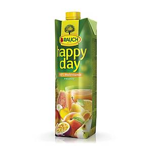 Happy Day Multivitamin Fruchtsaft 100% 1 l