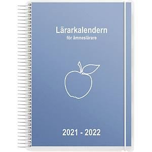 Lärarkalendern Burde för Ämneslärare 90 1252, A5 blå