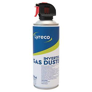 Trykkluft på boks Lyreco, vendbar, 200 ml