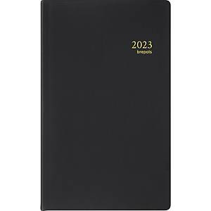 Brepols Building 414 pocket diary with Seta cover black
