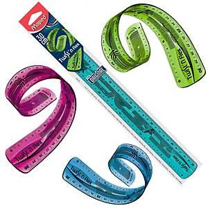 Régua de dupla medição Maped Twit n Flex - 30 cm