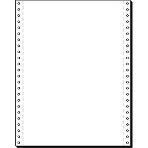 Endlospapier 1fach, 304,8 x 240mm, blanko, 60g, LP, 2000 Blatt
