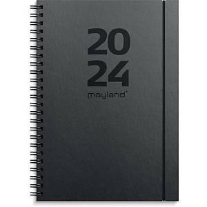 Kalender Mayland 2007 00, uge, 2020, intermational, A5, pp, sort