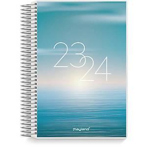 Studiekalender Mayland 8041 00, dag, 2020/21, 11,7 x 17,1 cm, 4 illustrationer