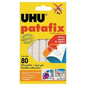 UHU Patafix adhesive gum white - pack of 80