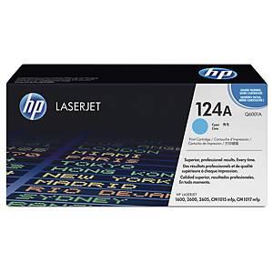 HP 124A Q6001A laservärikasetti syaani