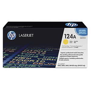 HP 124A Q6002A laservärikasetti keltainen