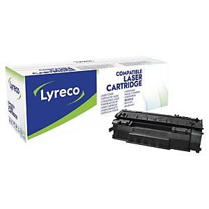 Cartouche de toner Lyreco compatible équivalent HP 49A - Q5949A - noire