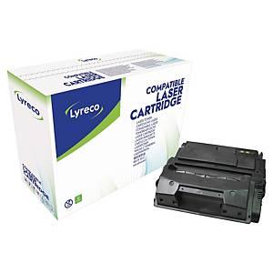 Toner Lyreco kompatibel zu HP Q5942A, 10000 Seiten, schwarz