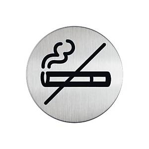 Durable Steel  NO SMOKING  Pictogram Sign 83mm