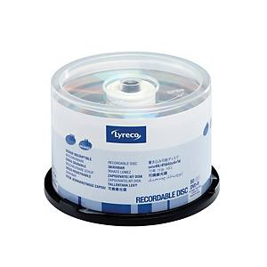 Lyreco DVD-R Spindle 1X to 16X - Box of 50