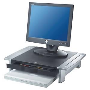 Monitorständer Fellowes, Kunststoff, schwarz/grau