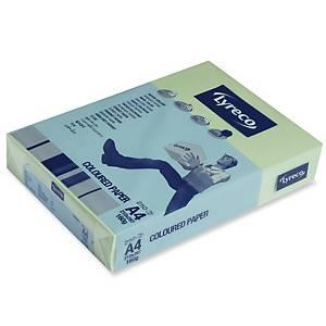 Lyreco väripaperi A4 160g vaaleanvihreä, 1 kpl=250 arkkia