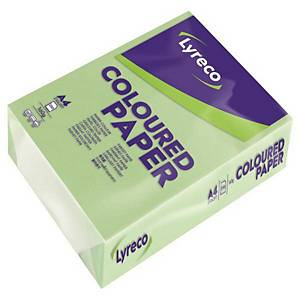 RM250 LYRECO PAPER A4 160G GREEN