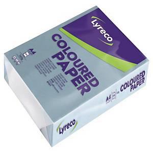 LYRECO 파스텔 컬러 페이퍼 A4 160g 하늘색 250매/권