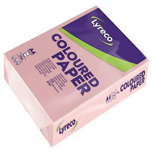 RM250 LYRECO PAPER A4 160G PINK