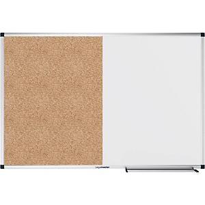 Legamaster combi-bord, whiteboard en prikbord, 60 x 90 cm
