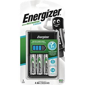 ENERGIZER ULTRA FAST CHARGER W/4AA EURO