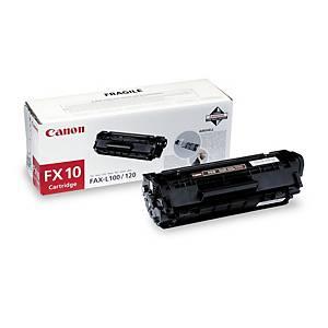Lasertoner Canon FX-10 0236B002, faks, 2000 sider, sort