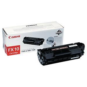 Toner laser CANON preto FX10 para fax L-100/120