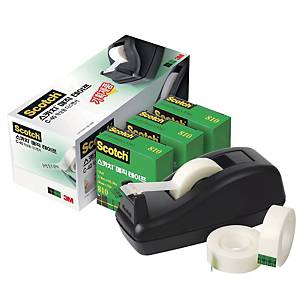 3M C40 DISPENSER BLACK+PK3 MAGIC 19MMX33M